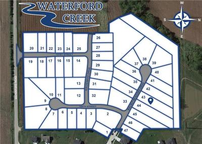 Urbandale Residential Lots & Land For Sale: Lot 43 Waterford Creek