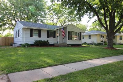 Des Moines IA Single Family Home For Sale: $167,000