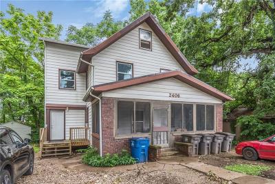 Des Moines Multi Family Home For Sale: 2406 Woodland Avenue