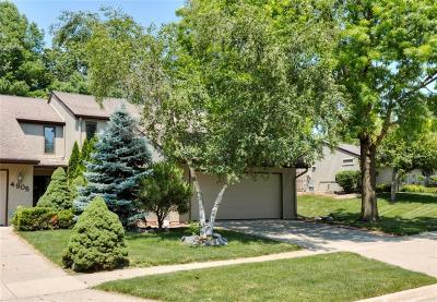 West Des Moines Condo/Townhouse For Sale: 4903 Cedar Drive #55