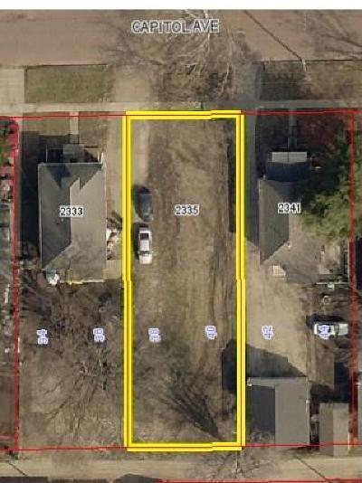Des Moines Residential Lots & Land For Sale: 2335 Capitol Avenue