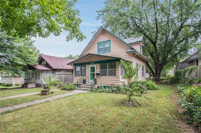 Des Moines IA Single Family Home For Sale: $125,900