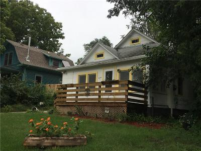 Des Moines IA Single Family Home For Sale: $112,000
