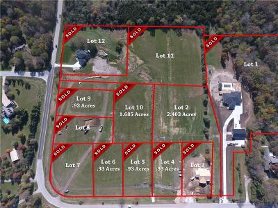 Granger Residential Lots & Land For Sale: 10932 NW 115th Avenue