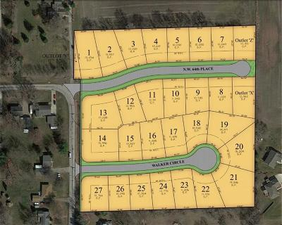 Johnston Residential Lots & Land For Sale: 5012 Walker Circle