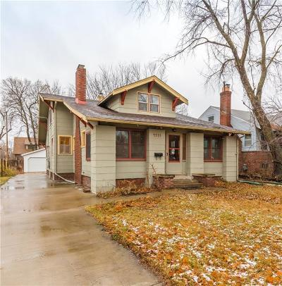 Des Moines Single Family Home For Sale: 4535 Boulevard Place