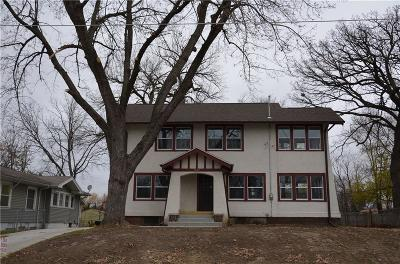 Des Moines IA Single Family Home For Sale: $135,000