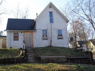 Des Moines IA Single Family Home For Sale: $22,900