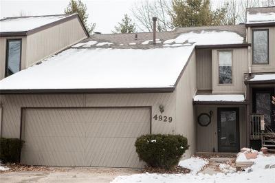 West Des Moines Condo/Townhouse For Sale: 4929 W Park Drive #B-2