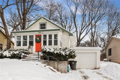 Des Moines IA Single Family Home For Sale: $185,000