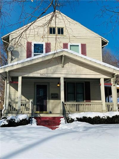 Des Moines Single Family Home For Sale: 3403 Crocker Street