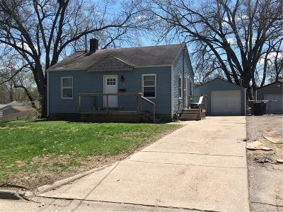 Des Moines IA Single Family Home For Sale: $109,000
