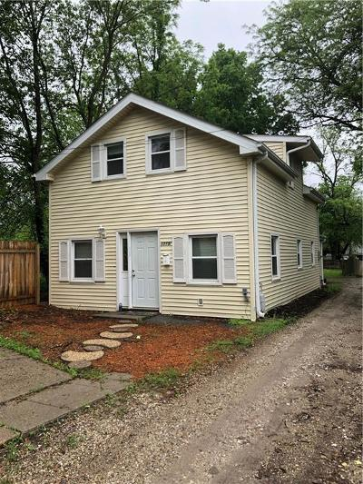 West Des Moines Single Family Home For Sale: 1115 1/2 Locust Street