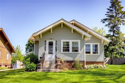 Des Moines Single Family Home For Sale: 1408 Thompson Avenue