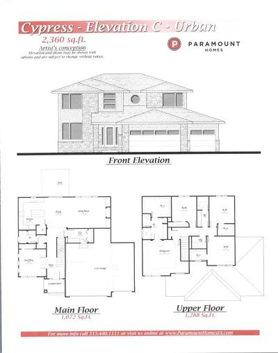 Waukee Single Family Home For Sale: 1035 Spruce Street