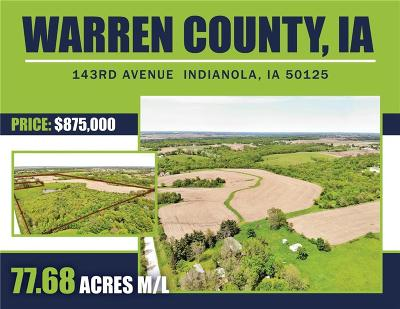 Indianola Residential Lots & Land For Sale: 00 143rd Avenue