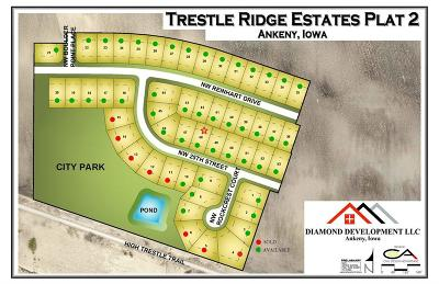 Ankeny Residential Lots & Land For Sale: 3410 NW 25th Street