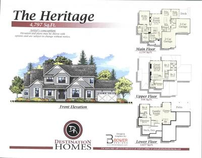 Adel Single Family Home For Sale: Lot 22 Heritage Woods Land