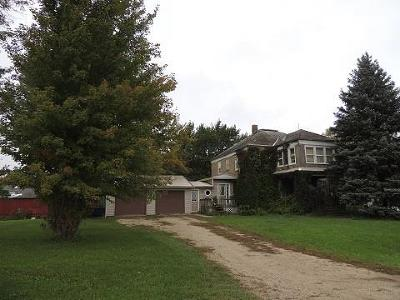 Rockwell City IA Single Family Home For Sale: $85,000