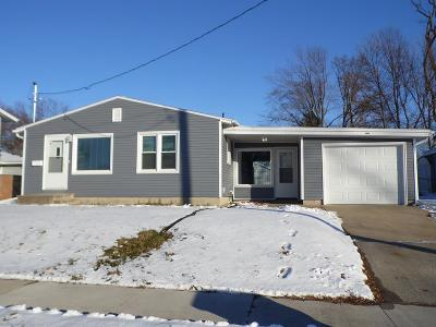 Fort Dodge IA Single Family Home For Sale: $129,900