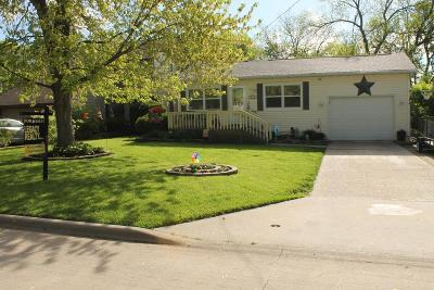 Fort Dodge IA Single Family Home For Sale: $116,900