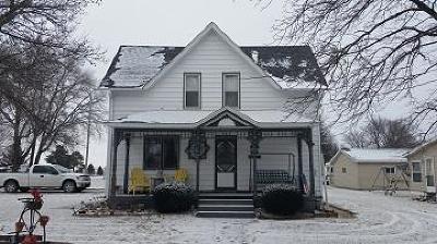 Manson IA Single Family Home For Sale: $75,000