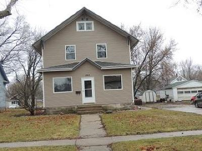 Rockwell City Single Family Home For Sale: 833 Court St
