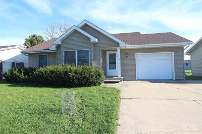 Webster City Single Family Home For Sale: 812 Crestview Drive