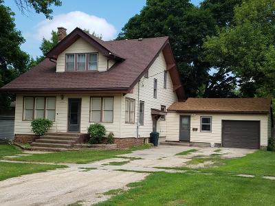 Manson IA Single Family Home For Sale: $69,900