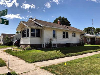 Fort Dodge IA Single Family Home For Sale: $54,900