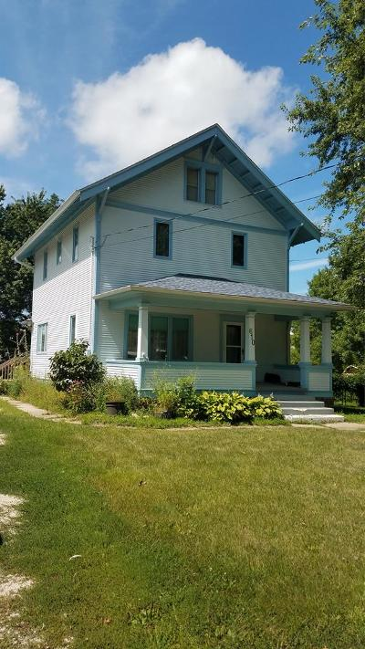 Calhoun County, Hamilton County, Humboldt County, Webster County Single Family Home For Sale: 610 Main St