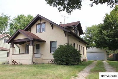 Nora Springs Single Family Home For Sale: 310 E Congress