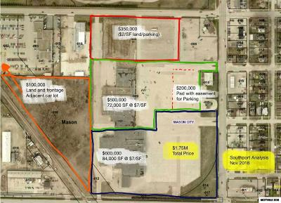 Mason City Lots For Sale: 1500 S Federal