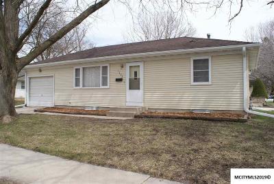 Mason City Single Family Home For Sale: 1403 N Carolina Pl