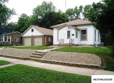 Mason City Single Family Home For Sale: 312 8th SE