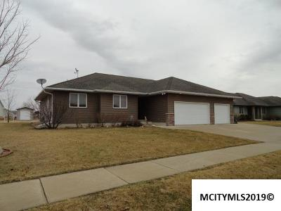 Mason City Single Family Home For Sale: 1228 Moonstone Ct