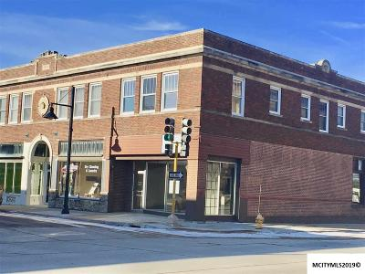 Mason City Commercial For Sale: 34 2nd NE