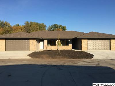 Mason City Single Family Home For Sale: 521 River Bend Court