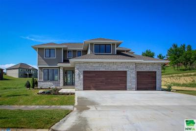 Single Family Home For Sale: 6821 Palm Valley