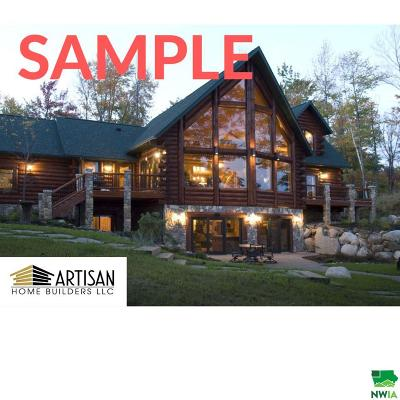 Single Family Home For Sale: Lot 1 West Blue Lake