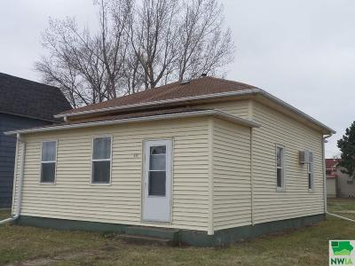 Single Family Home For Sale: 212 W Pleasant St.