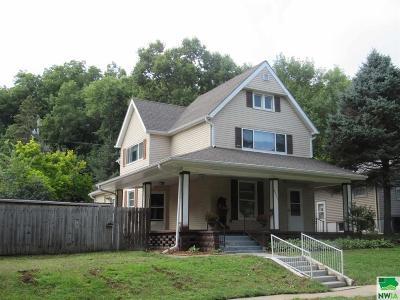 Single Family Home For Sale: 4411 Van Buren #St