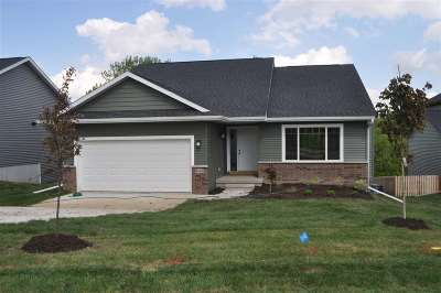 Iowa City IA Single Family Home For Sale: $309,900