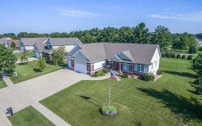Cedar Rapids Single Family Home For Sale: 5800 Rapids Ridge Rd NE