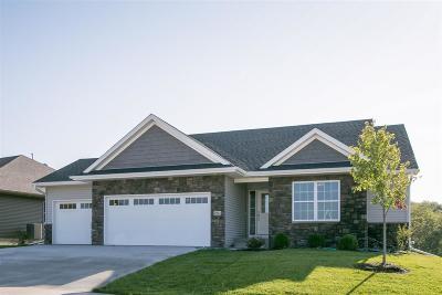 Iowa City Single Family Home For Sale: 4942 Preston Ln