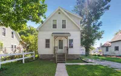 Cedar Rapids IA Single Family Home Back On Market: $99,950