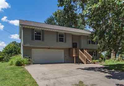 Iowa City IA Single Family Home Reduced Price: $199,900
