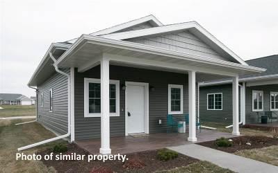 Iowa City Single Family Home For Sale: 2666 Pinto Ln #Lot 24