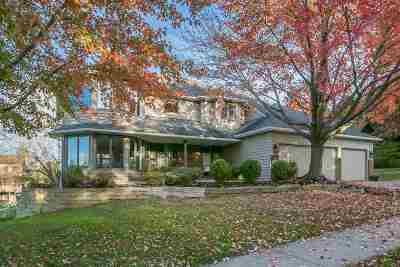 Iowa City IA Single Family Home For Sale: $525,000