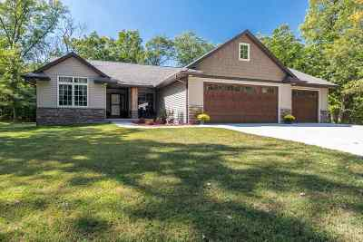 Tipton Single Family Home For Sale: 210 Hidden River Dr